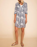 SYDNEY SKIES SHIRTDRESS