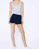 TAYLOR- ROWAN -Black High Rise Shorts