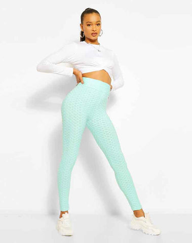 Textured Fitted Legging