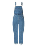 "The ""BASIC DENIM"" Overalls in Light Wash 