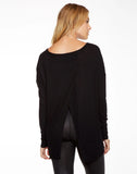 "Thermal Cross Back Open Neck ""T"""