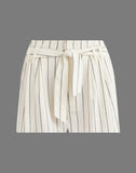 Tie Waist Short in Miroglio Stripe