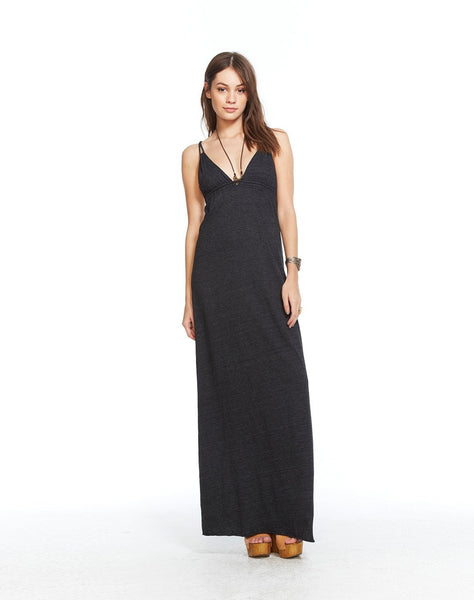 Triblend Strappy Maxi Dress