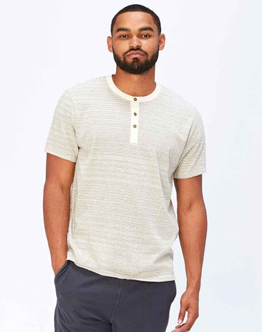 Troy Stripe Henley