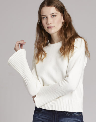 Trumpet Sleeve Sweater