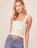 Twiggy Striped Tank Top