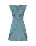 Tyrah Sleeveless Ruffle Dress