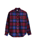 Utility Shirt Warm Cabernet Plaid - Multi-color
