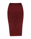 Velour Stride Skirt