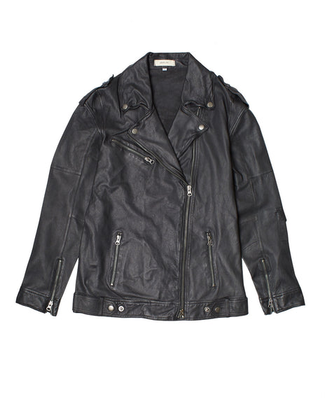 Vinny Moto Leather Jacket