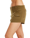 Vintage Canvas Cargo Shorts