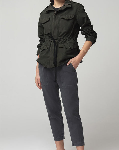 Vivienne Jacket in Dark Olive