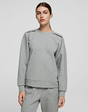 Voluminous-sleeve Sweatshirt