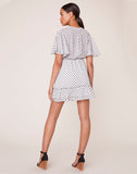 We Dot You Chiffon Dress