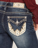 WESTERN LOVE BOOTCUT JEANS