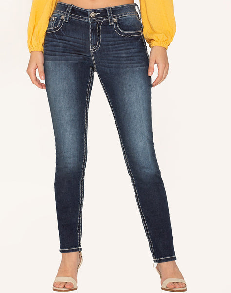 WILD AND FREE SKINNY JEANS