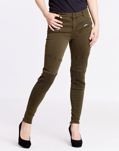 Zipper Jeggings