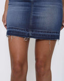 ZUMA - Frayed Denim Skirt