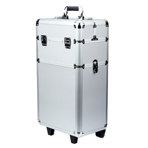 Detachable Makeup Case with wheels, for the perfect photoshoot + 1