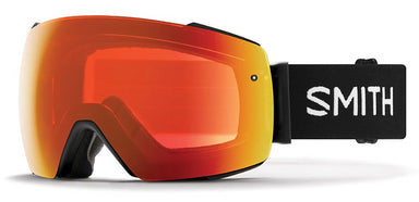 Smith I/O MAG Black/Sun Red Mirror Goggles