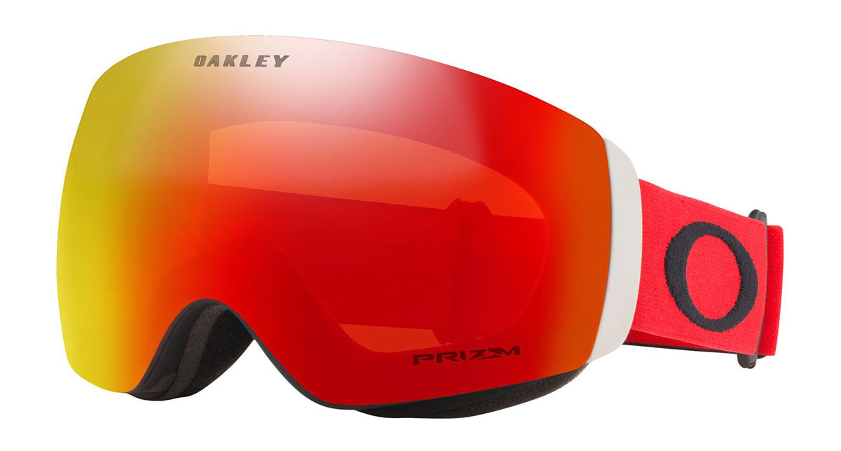 Oakley Flight Deck XM Red Black Prizm Torch Goggles 2020 thumbnail
