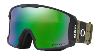 Oakley Line Miner Blockography Dark Brush Prizm Jade Goggles