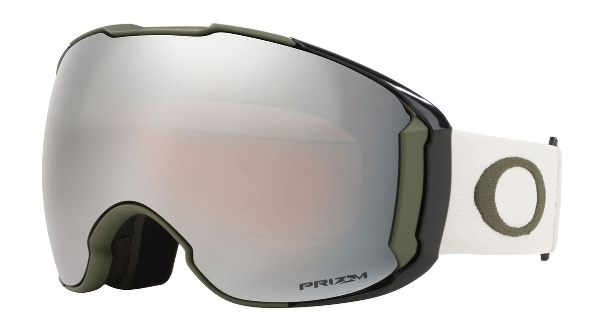 Oakley Airbrake XL Dark Brush Grey Prizm Black & Prizm HI Pink Goggles thumbnail