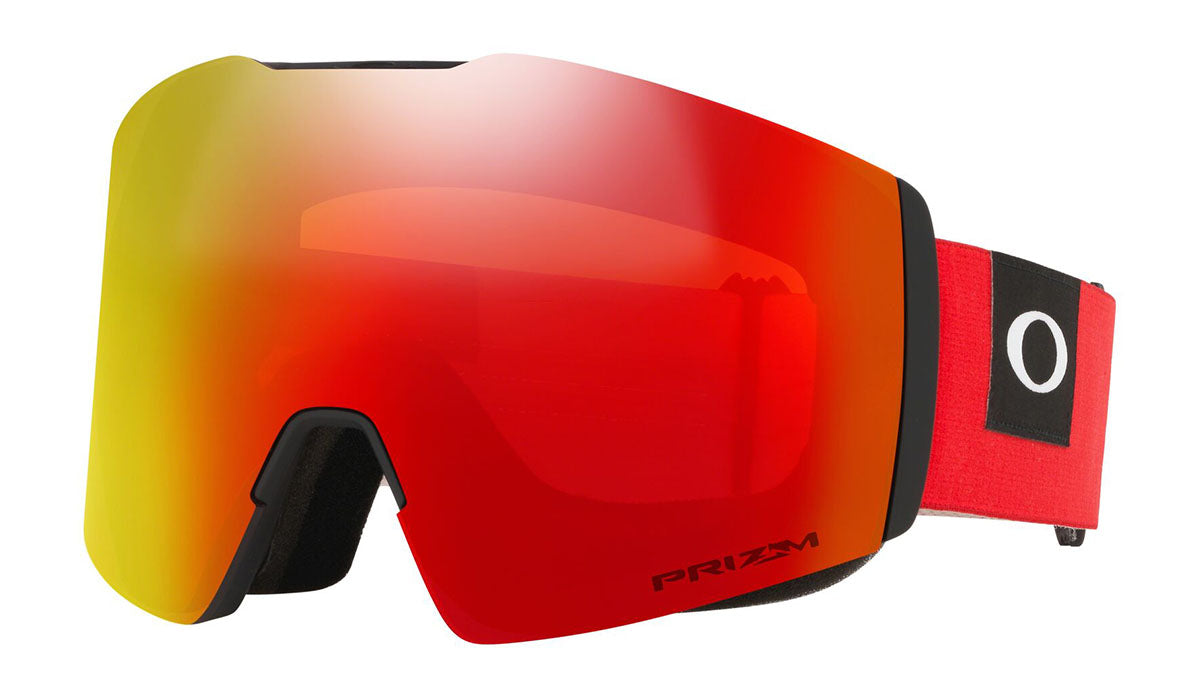 Oakley Fall Line XL Blocked Out Red Prizm Torch Goggles 2020 thumbnail