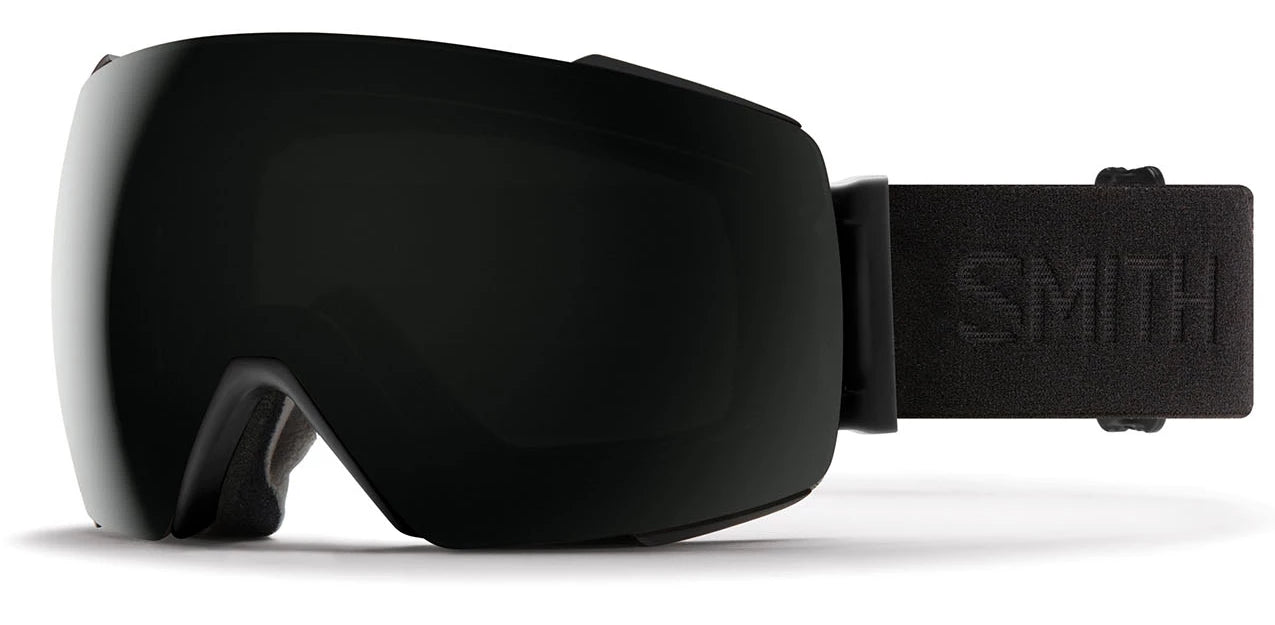 Smith I/O MAG Blackout/Sun Black Goggles