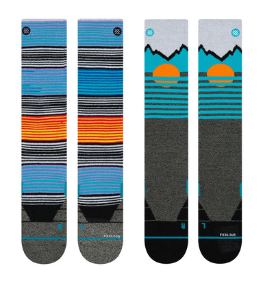 Stance Mens Mountain 2 pack Skisokker