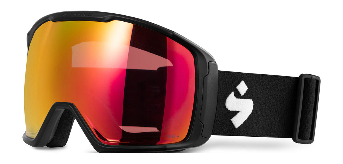 Sweet Protection Clockwork Max BLI Matte Black RIG Topaz / RIG Light Amethyst Goggles