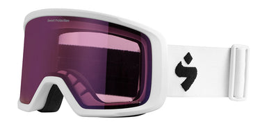 Sweet Protection Firewall RIG Satin White / RIG Amethyst Goggles
