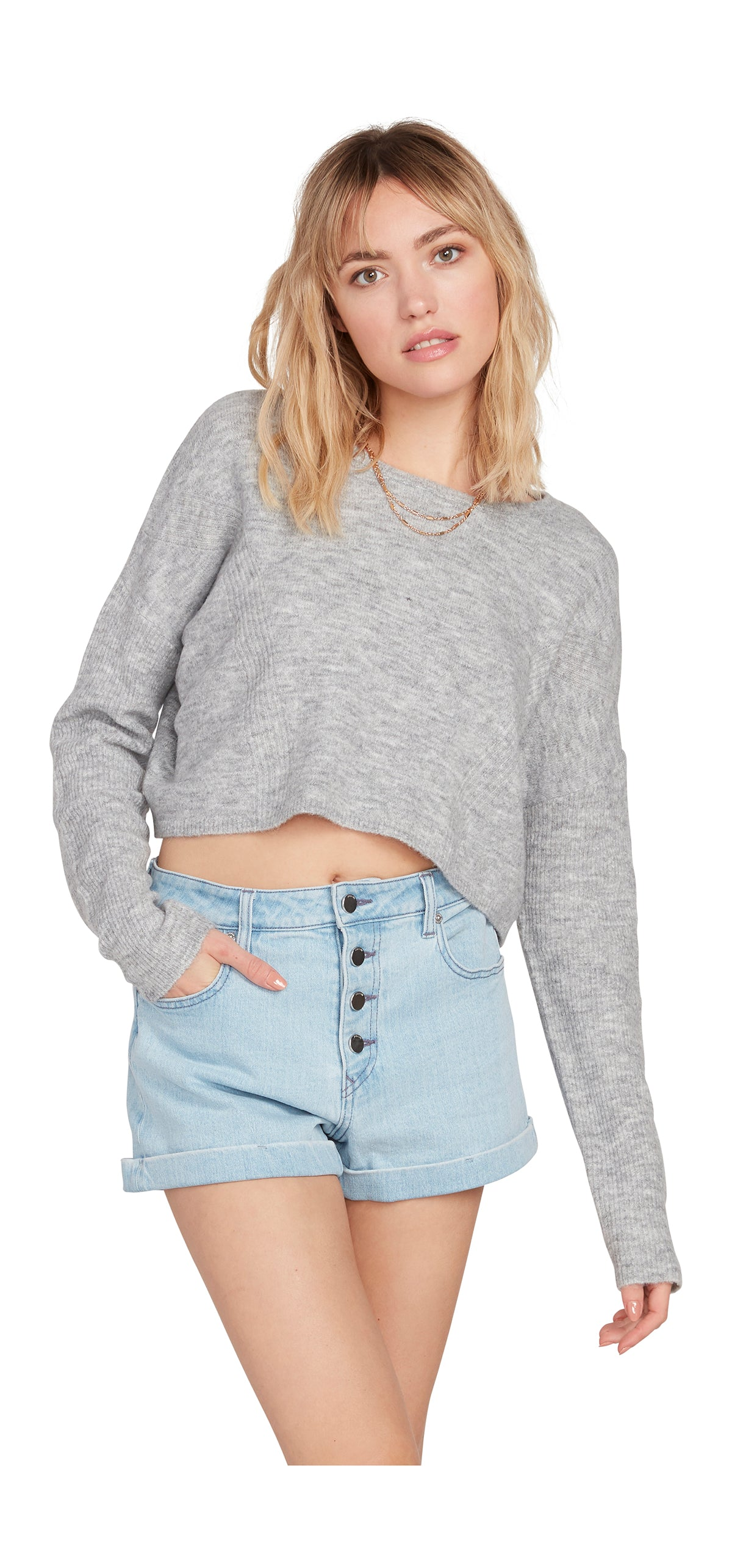 Volcom Womens Take Me Far Away Crewneck