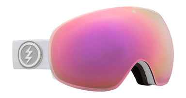 Electric EG3 Matte White Brose / Pink Chrome Goggles