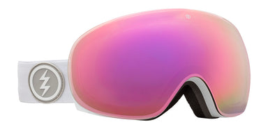 Electric EG3.5 Matte White Brose / Pink Chrome Goggles