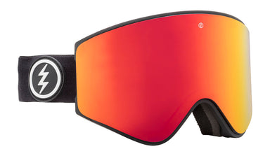 Electric EGX Matte Black Brose / Red Chrome Goggles