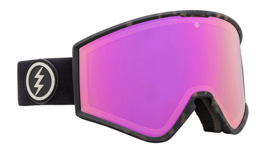 Electric Kleveland Burnt Tort Brose / Pink Chrome Goggles