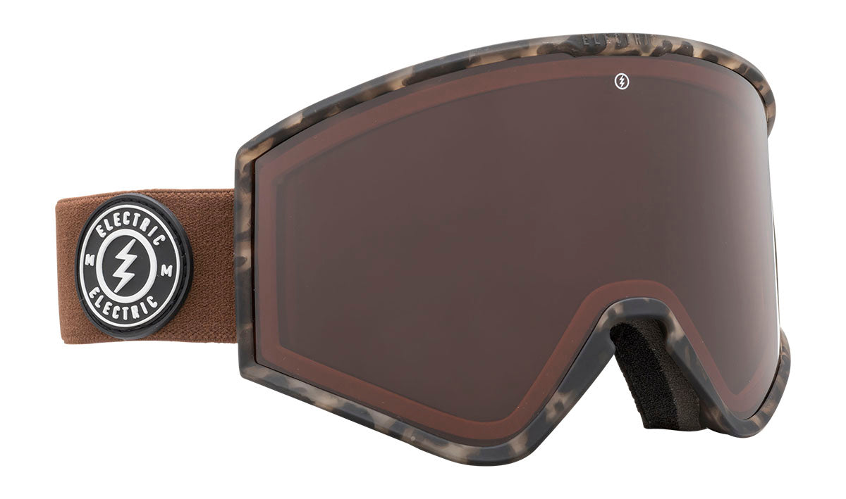 Electric Kleveland Camo Brose / Gold Chrome Goggles thumbnail