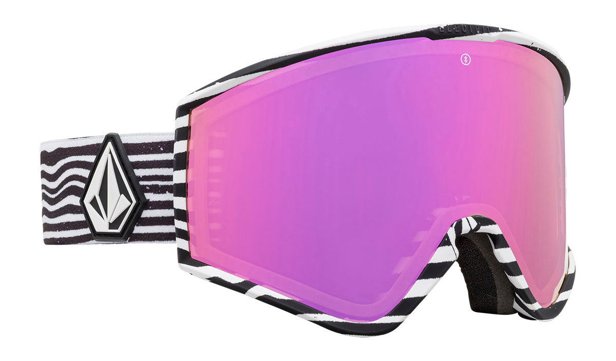 Electric Kleveland Volcom Brose / Pink Chrome Goggles thumbnail