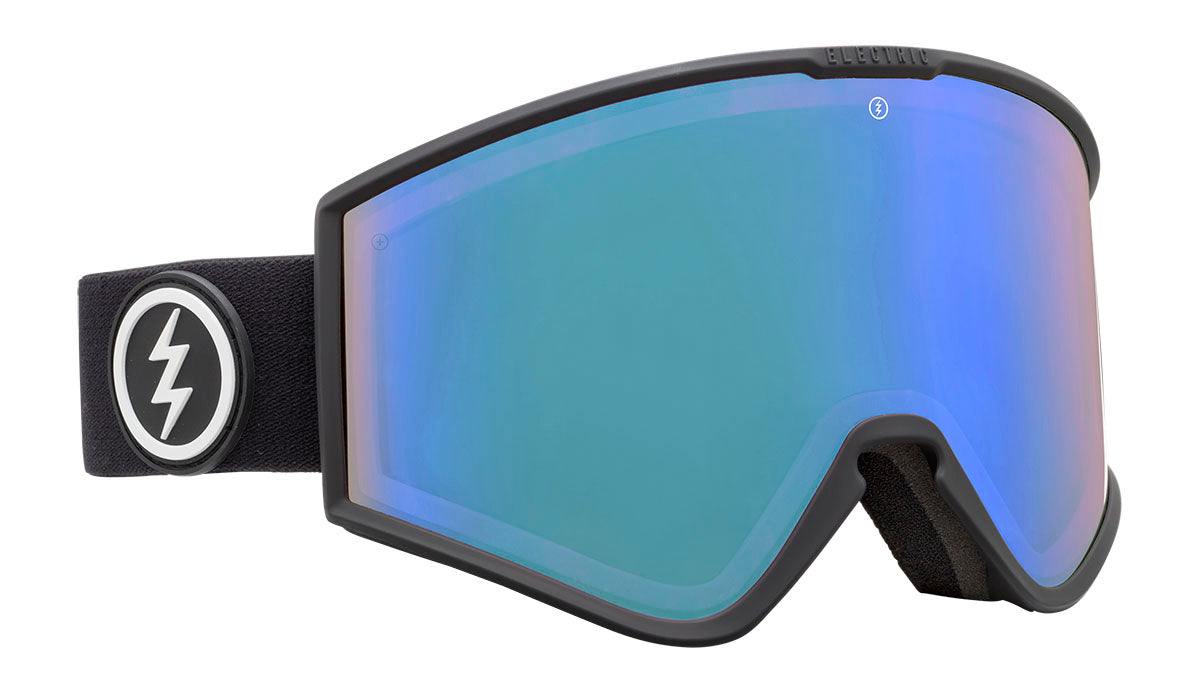 Electric kleveland+ matte black photochromic blue 2020 fra electric på blacksnow.dk
