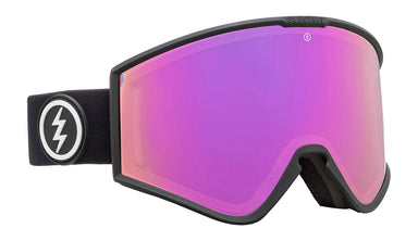 Electric Kleveland+ Matte Black Brose/ Pink Chrome Goggles