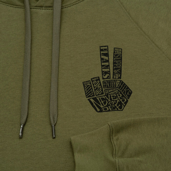 Planks Hand of Shred Hoodie 2020