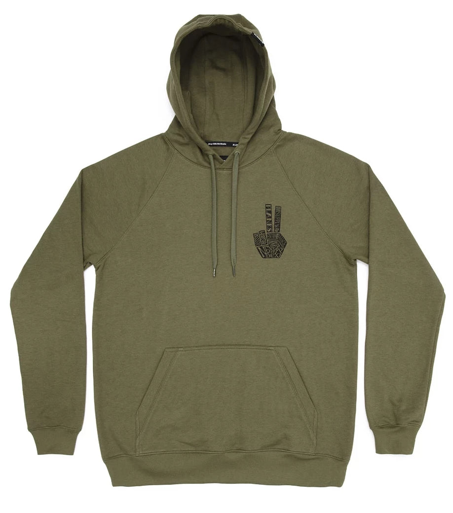 planks clothing – Planks hand of shred hoodie 2020 på blacksnow.dk