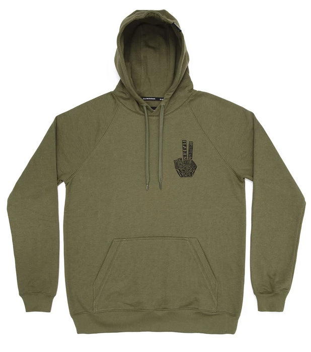 Planks Hand of Shred Hoodie | Planks Clothing