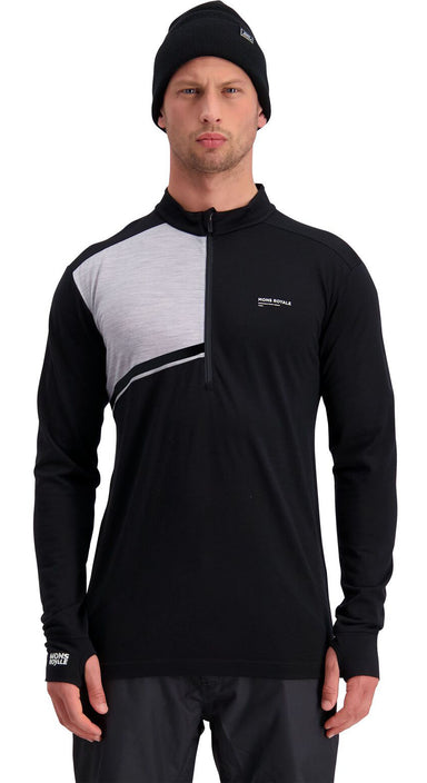 Mons Royale Alta Tech Half Zip Skiundertrøje