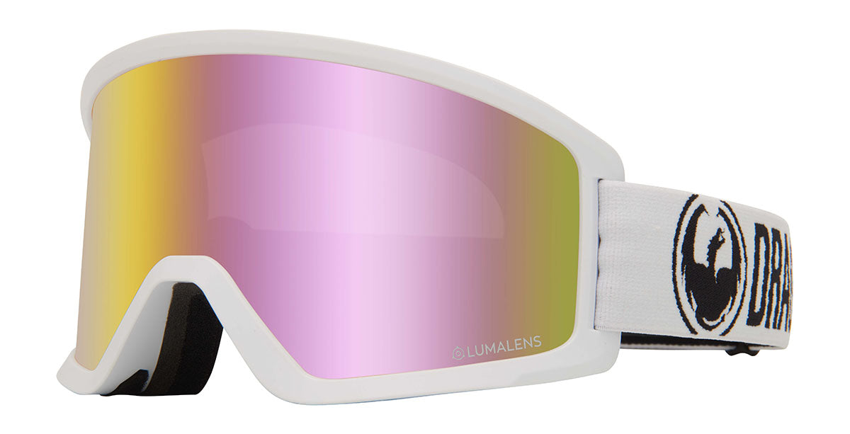 Dragon DX3 White Goggles