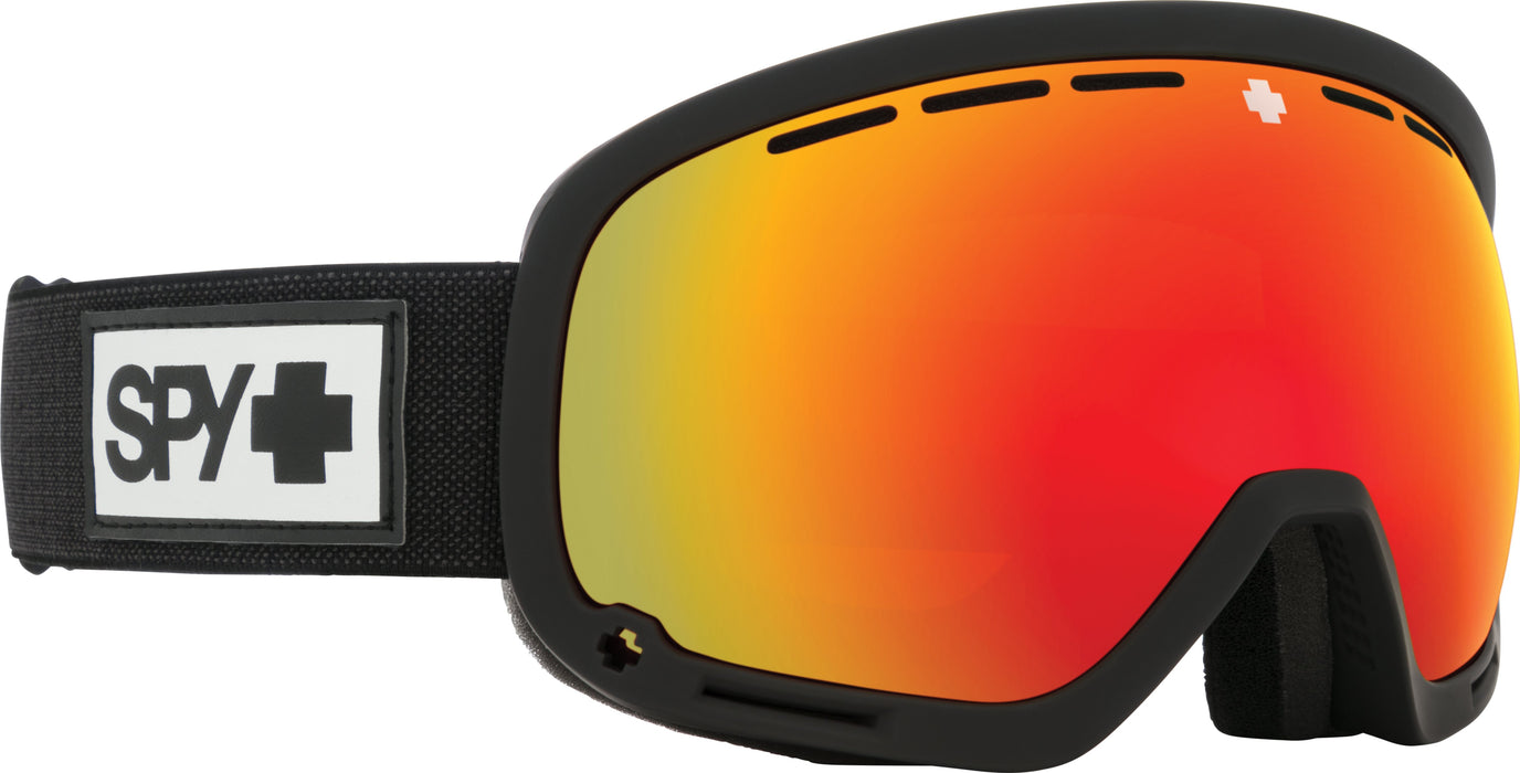 Spy Marshall Essential Black/Red Spectra Goggles