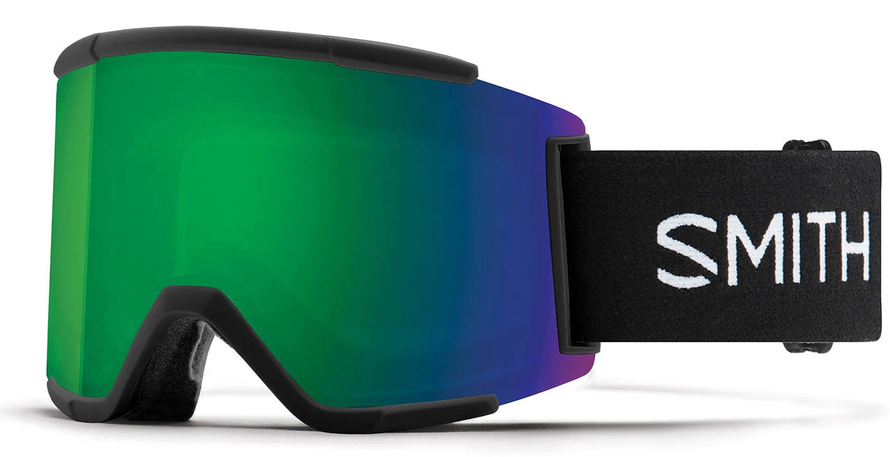 Smith Squad XL Black/Sun Green Goggles