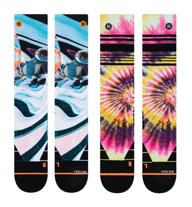 Stance Womens Mountain 2 pack Skisokker