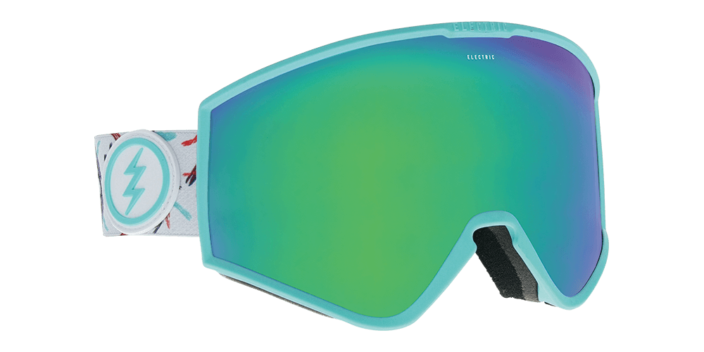Electric Kleveland Forest / Brose Green Chrome Goggles thumbnail